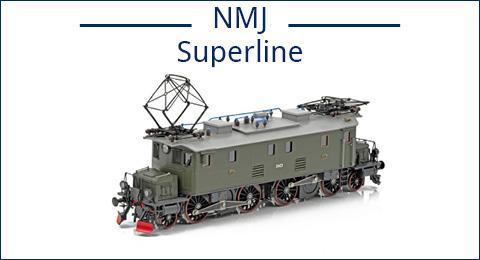 vollständige Übersicht über unsere NMJ Superline Produkte