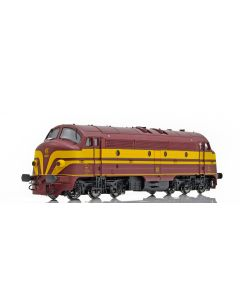 Topline Lokomotiver, NMJ Topline model of the CFL 1603 early versiion from 1956-1971, AC DIGITAL, NMJT95302