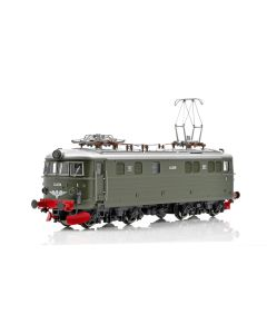 Topline Lokomotiver, NMJ Topline model of the NSB El 11.2078 in the green original livery, with the small snow plows, DC., NMJT86.102
