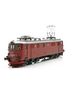 Topline Lokomotiver, NMJ Topline NSB El11.2104, Red/Silver, AC Digital, NMJT86.301AC