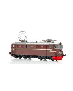 Topline Lokomotiver, NMJ Topline model of the NSB El 11b.2148 in the red/brown livery, with 2 front windows and gitter, AC Digital. , NMJT87.201AC