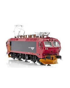 Topline Lokomotiver, NMJ Topline model of the NSB EL17.2229  in new design red/black livery, DC. , NMJT80.202