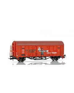 """Topline Godsvogner, NMJ Topline model of SJ G 43936 """"AB Åkerlund & Rausing"""" box car., NMJT604.519"""