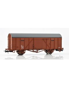 Topline Godsvogner, NMJ Topline modell av SJ Gbl 108 5 265-2 closed freight wagon., NMJT603.302