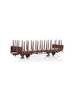 Topline Godsvogner, NMJ Topline model of the SJ Kbps 21 74 335 2 102-8 stake car., NMJT602.105