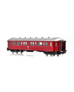 Topline Personvogner, NMJ Topline passenger coach NSB B3-2 type 3 25514, ex B2 with corrugated sides in the intermediate design of NSB., NMJT131.201