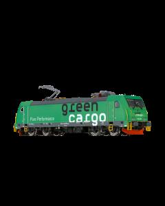 Lokomotiver Svenske, brawa-43969-green-cargo-re1428-ac-sound, BRA43969