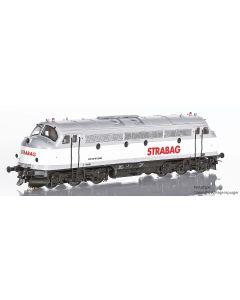 Topline Lokomotiver, nmj-topline-90603-strabag-tmy-1147-dc, NMJT90603