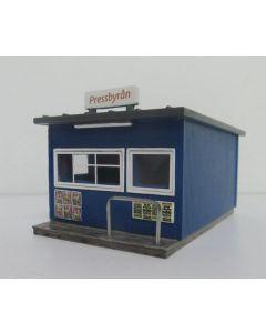 Ferdigmodeller Jeco, jeco-77890-pressbyran-kiosk, JEC77890