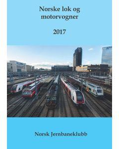 Bøker, norske-lok-og-motorvogner-2017-bok-nlm, NJKNLM17