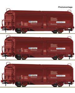 Godsvogner Norske, roco-76169-sj-tbis-nordisk-transport, ROC76169
