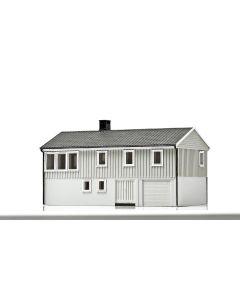 Skyline Ready Made, nmj-skyline-15123-norwegian-villa-husbank-117-grey-white, NMJH15123