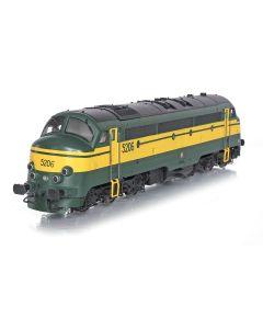 Topline Lokomotiver, nmj-topline-90405-sncb-5206-nohab-afb-dc, NMJT90405