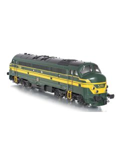 Topline Lokomotiver, nmj-topline-90406-sncb-5209-nohab-afb-dc, NMJT90406