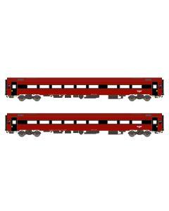 Personvogner Norske, arndt-spezial-modelle-asm-188684-nsb-b7-4-b7-5-bergen, ASM188684