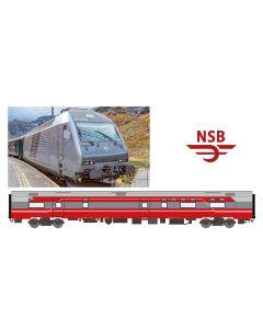 Lokomotiver Norske, arndt-spezial-modelle-asm-188692-nsb-el-18-fr7-3-stavanger, ASM188692