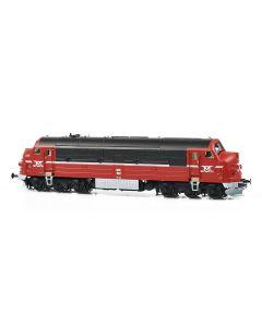 Lokomotiver Danske, dekas-dk-h0-l0001dl-ohj-nohab-mx-102-dcc, DK-H0-L0001DL