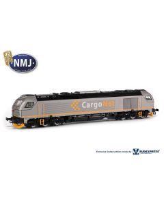 Lokomotiver Norske, nmj-sudexpress-cargonet-diesel-cd-312001-dcc-sound-h0, NMJE89902