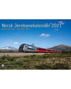 Bøker og litteratur, NJK jernbanekalender 2021, NJKKAL21