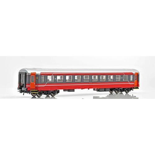 Topline Personvogner, NMJ Topline model of the NSB B3-6 25614, 2nd class passenger coach in NSB`s latest design., NMJT106.504