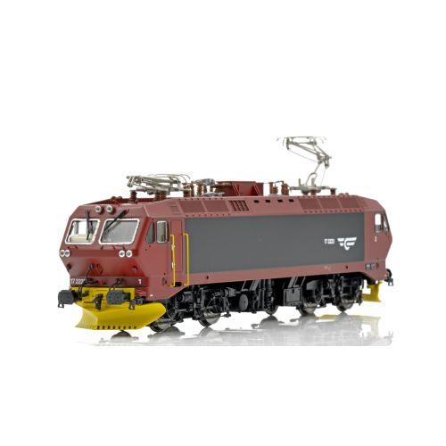 Topline Lokomotiver, NMJ Topline model of the NSB EL17.2223  in redbrown/black livery. , NMJT80.103