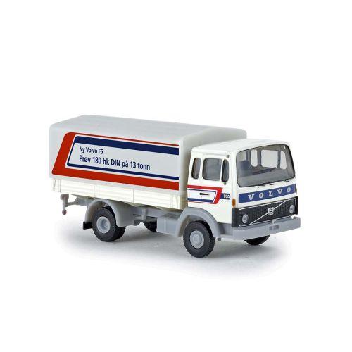 Lastebiler, brekina-34762-volvo-f613-ny-volvo-f6-prov-180-hk-din-pa-13-tonn, BRE34762