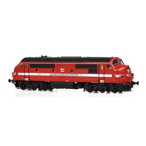 Lokomotiver Danske, dekas-dk-h0-l0002dl-hfhj-nohab-mx-19-dcc, DK-H0-L0002DL