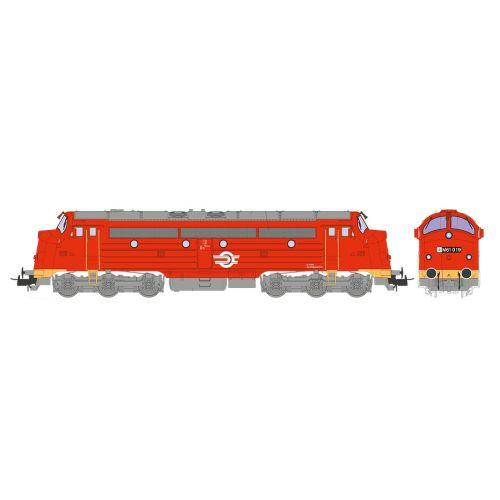 Topline Lokomotiver, nmj-topline-90211-mav-m61-019-nostalgia-dc-nmjt, NMJT90211
