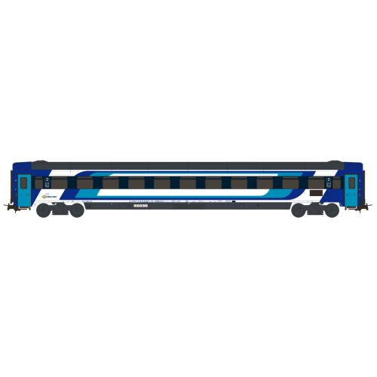 Topline Personvogner, NMJT404.105-NMJ Topline-MAV-Start-Coach-2.Cl.-Bmz 20-91 100-3,-new colours-HO, NMJT404.105